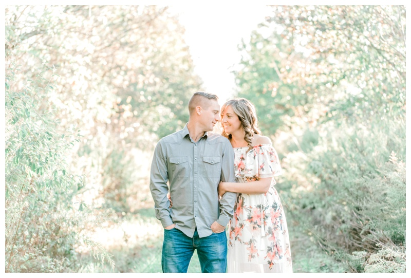 NJ Rustic Engagement Session