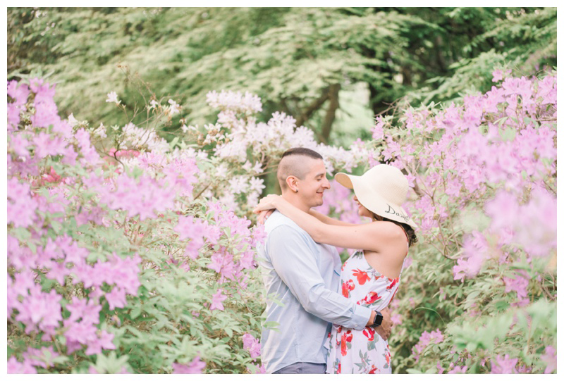 Garden Engagement Session