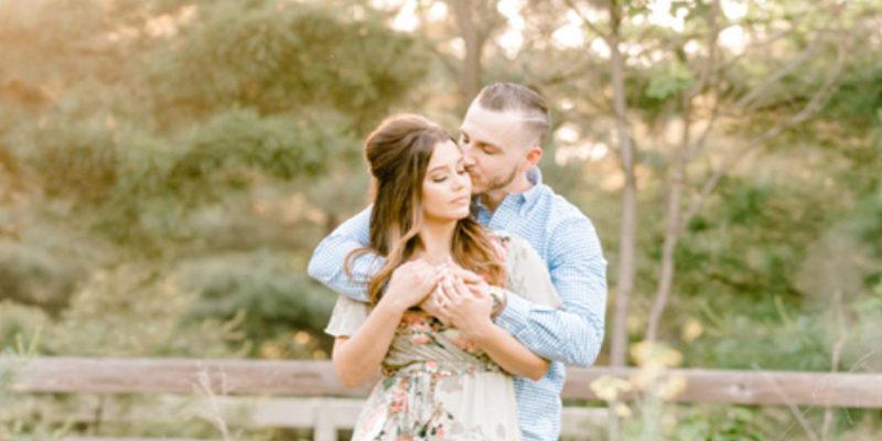 Rustic Engagement Session | Hamilton Manor Wedding  |Meg + Anthony