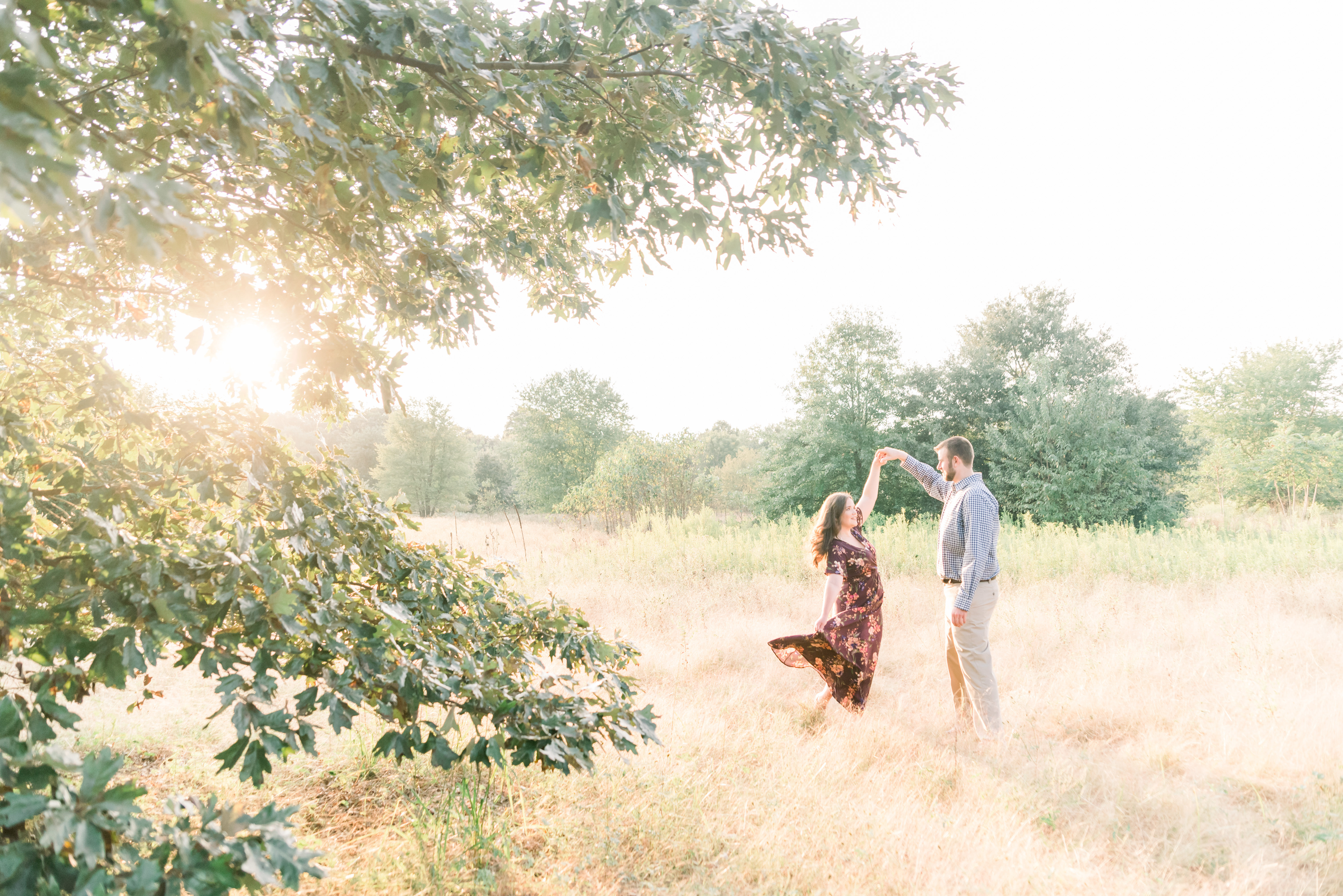 Brittney + Kevin's Rustic Engagement Session | South Jersey Wedding Photographer